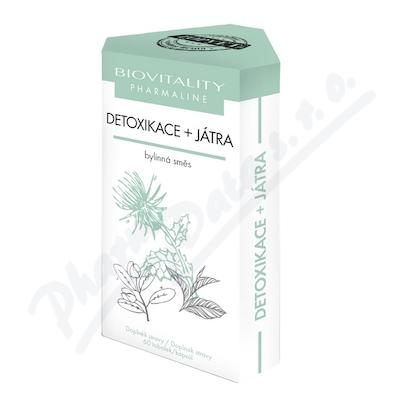 Biovitality Detoxikace+játra bylinná směs tob.60