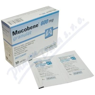 Mucobene 600mg gra.10x3gm/600mg-SA