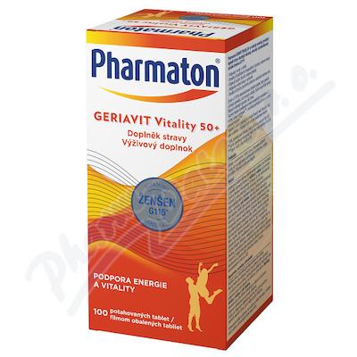 Pharmaton Geriavit Vitality 50+ tbl.100