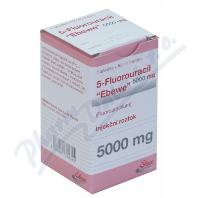 5-Fluorouracil Ebewe inj.1x100ml/5000mg